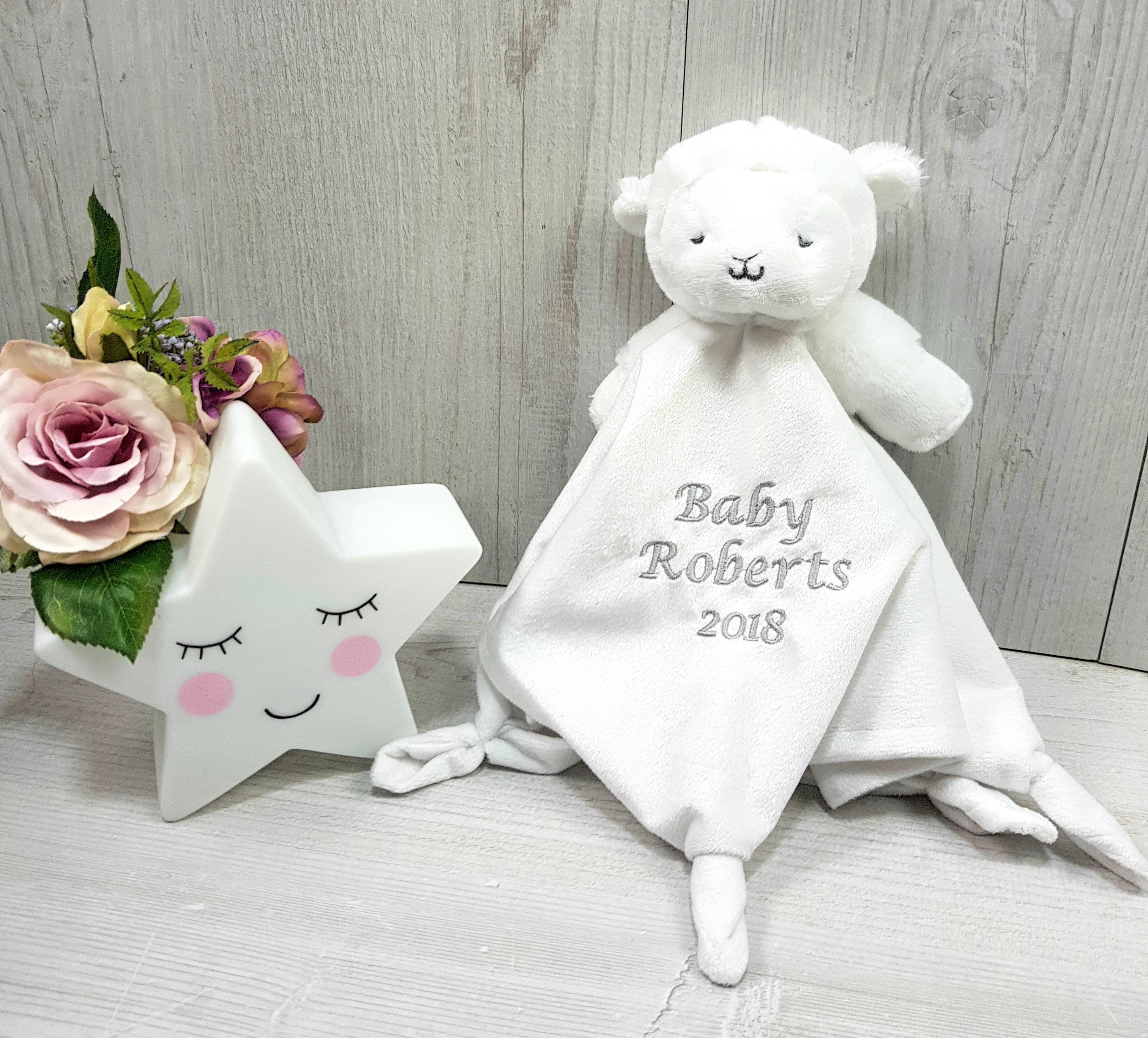 Embroidered Baby White Baby Newborn