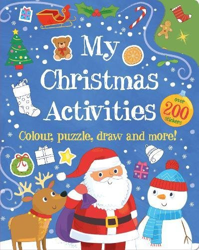 Christmas Eve Activities.My Christmas Activities Colour Puzzle Draw And More