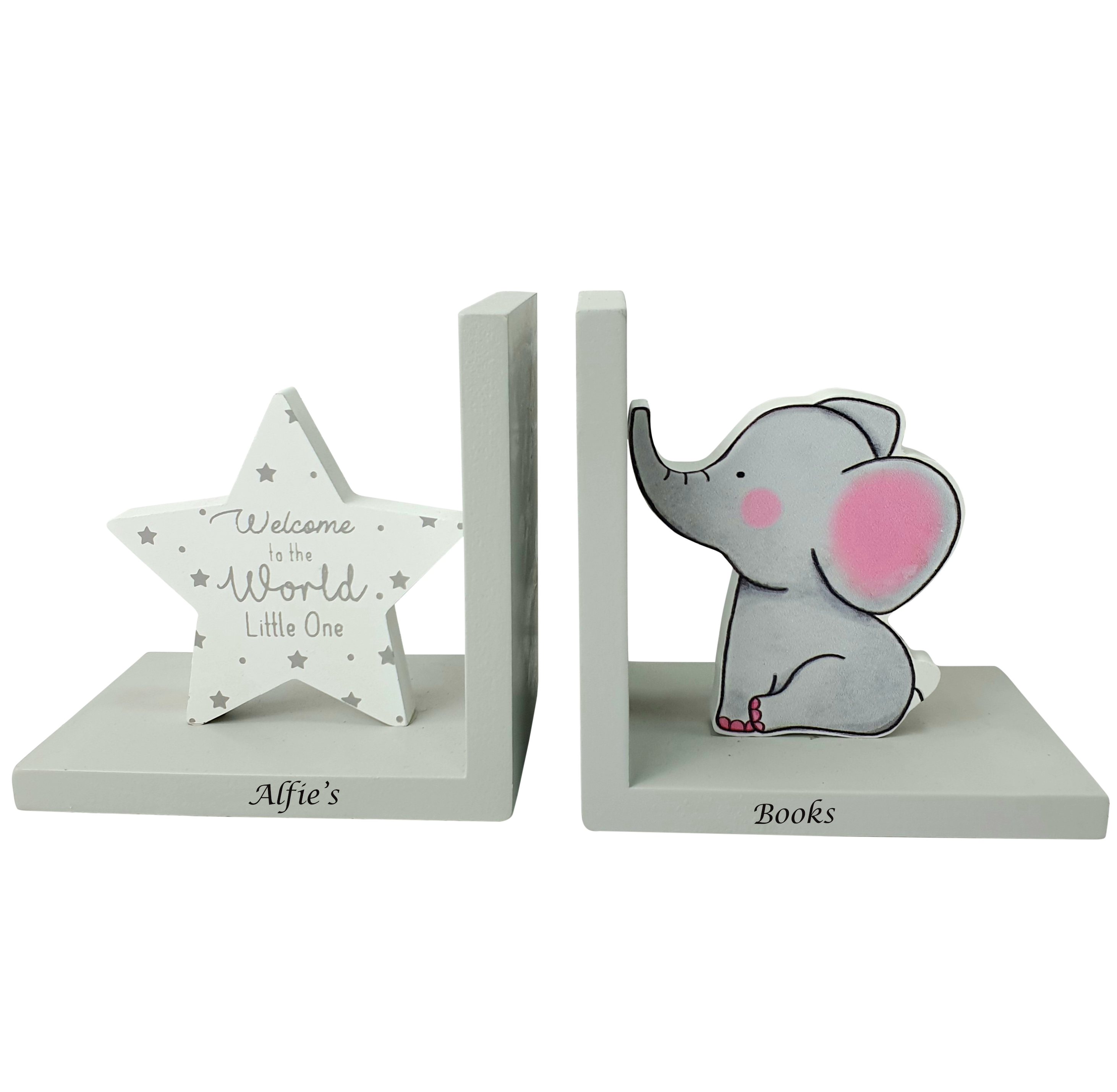 Nursery Bookends Baby Book Ends